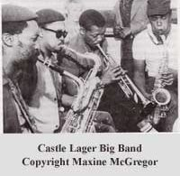 Castle Lager Band 1963.