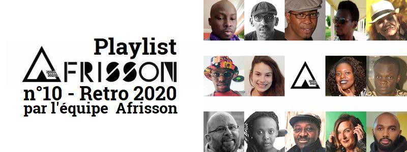 image Playlist n°10 Retro 2020 par l'équipe Afrisson